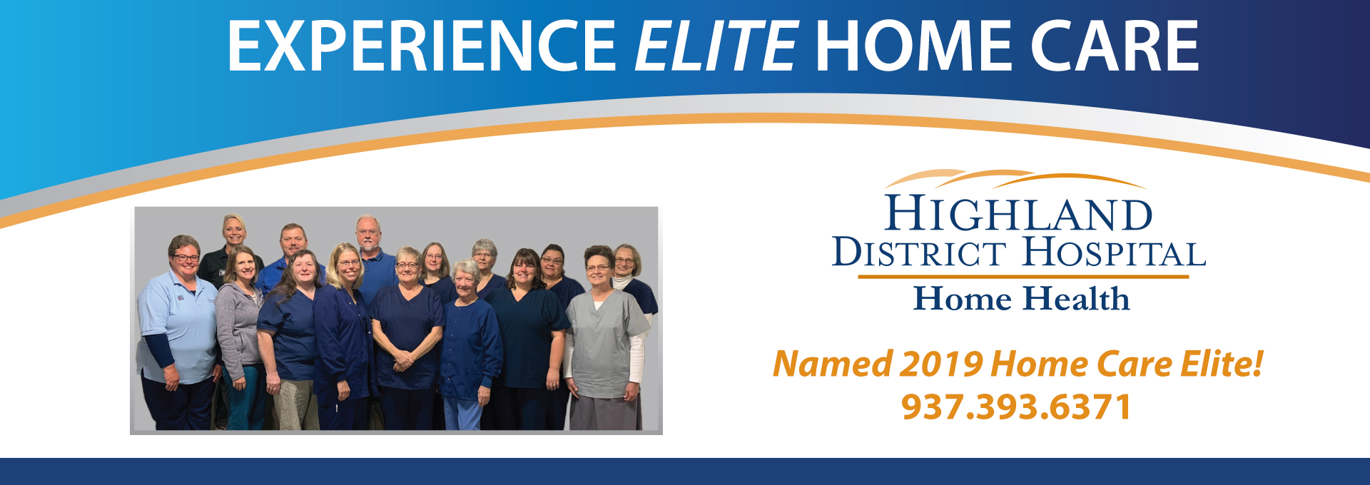 Experience Elite Home Care HDH banner
